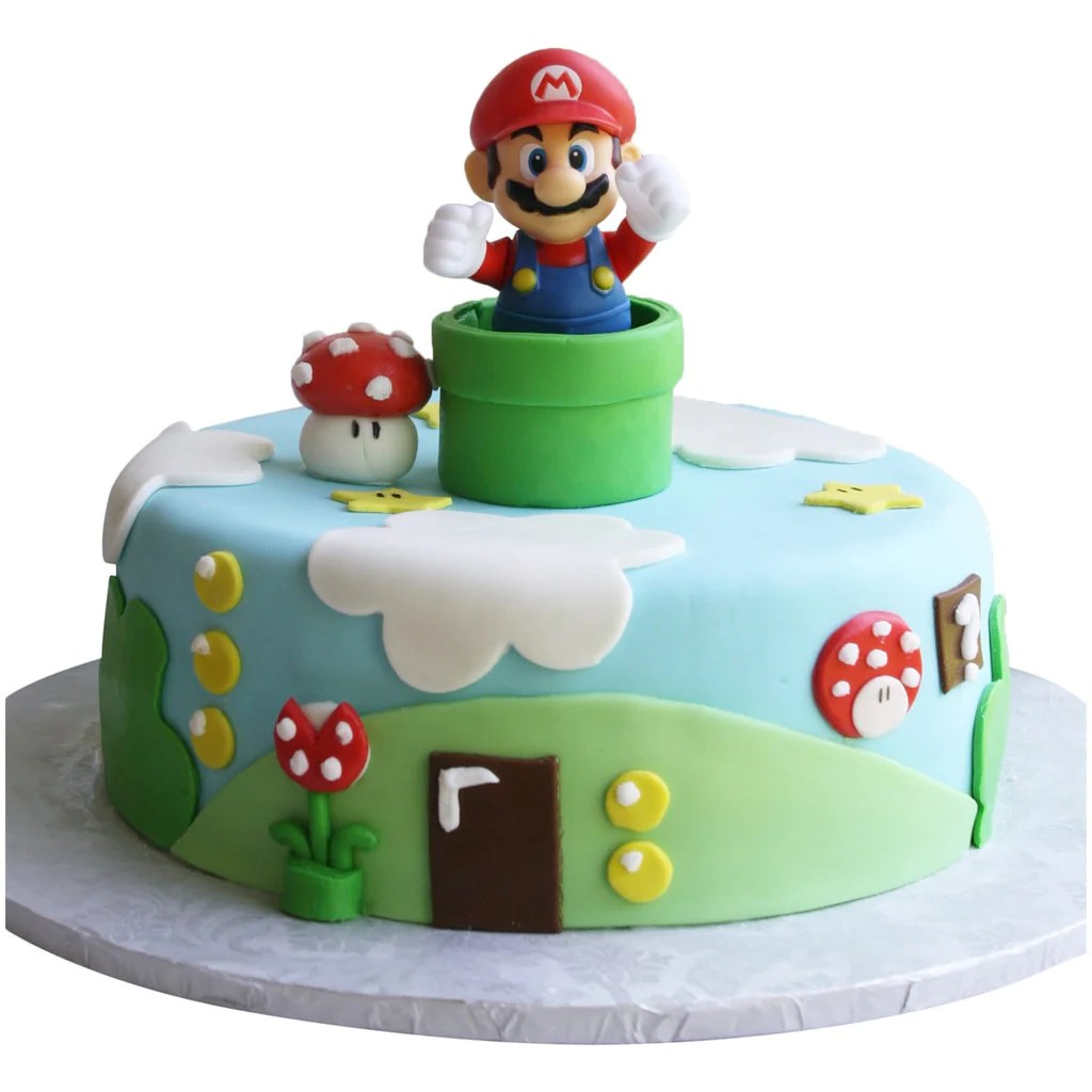 Super Mario Cake Buy Online Free Uk Delivery New Cakes