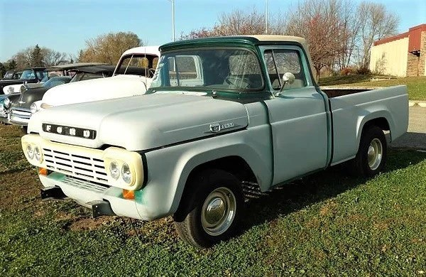 1959 Ford F100 Wiring Diagram Wiring Diagrams Of 1960 Ford