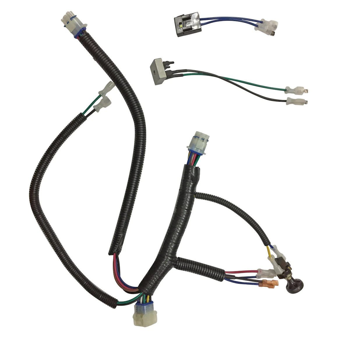 medium resolution of route 66 gas harness for club car precedent gas 2004 up