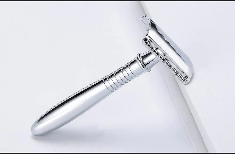 stainless safety razor double