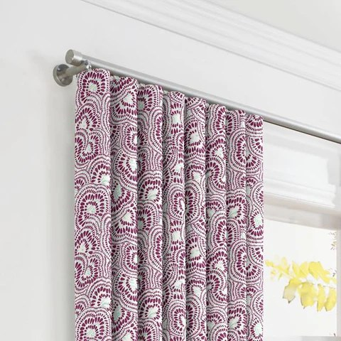 use traverse curtain rods
