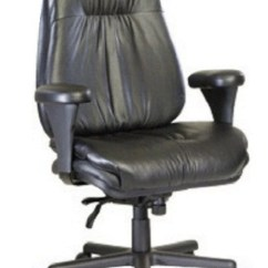 Neutral Posture Chair Office Adjustable Height Executive Leather Big And Tall The Ergonomic Store