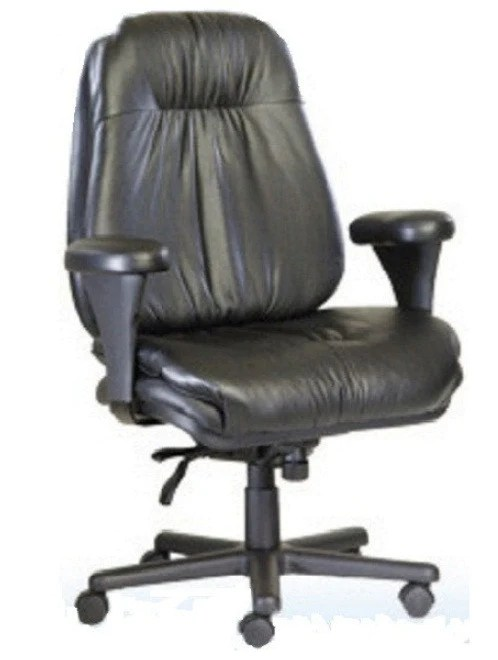 posture executive leather chair nailhead dining chairs canada neutral big and tall the ergonomic store