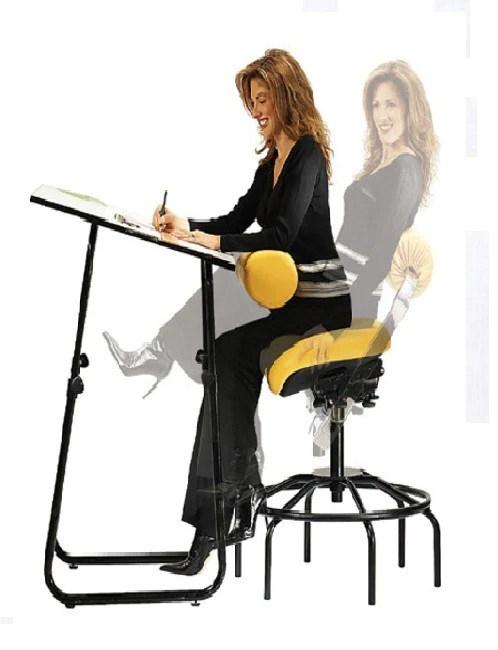 neutral posture chair ski lift swinging abrest for drafting the ergonomic store
