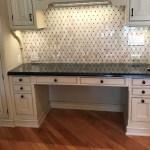 Diamond With Dark Emperador Dot Royal Queen Beige Marble Tile Briddick Home Design Studio 118 S Nw Highway Barrington 847 917 8453