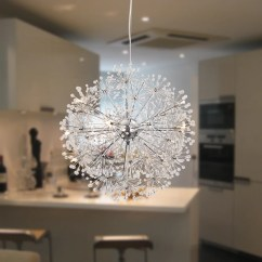 Assembled Kitchen Island Sinks And Faucets Unitary Brand Contemporary Globe Crystal Pendant Light Max ...