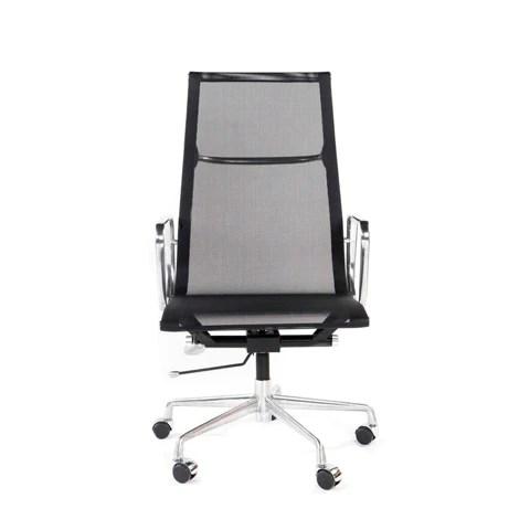 office chair high back zebra wood black mesh white on furniture