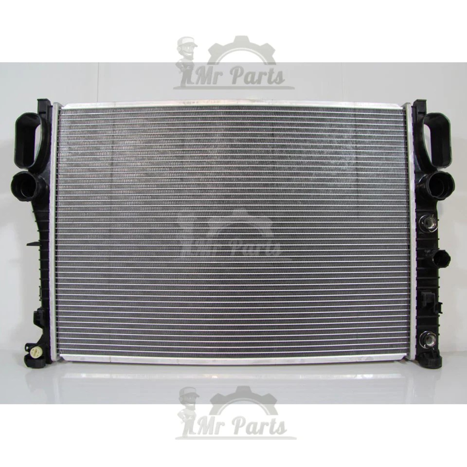 small resolution of double cell single fan mercedes benz radiator e550 e320 cls550 bra mr parts