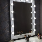 Hollywood Iconic Tall Vanity Mirror Xl760x1060mm Wall Mounted Made In