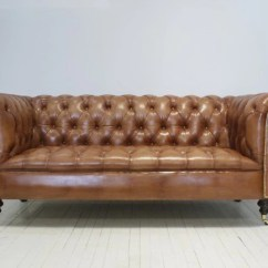 Most Expensive Leather Sofas In The World Innovation Unfurl Sofa Bed Uk Chesterfield Chair Makers Robinson Of England Wilmington Light Tan