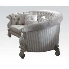 Oval Sofa Vine Sofas Acmef52085 Alpha Omega Furniture