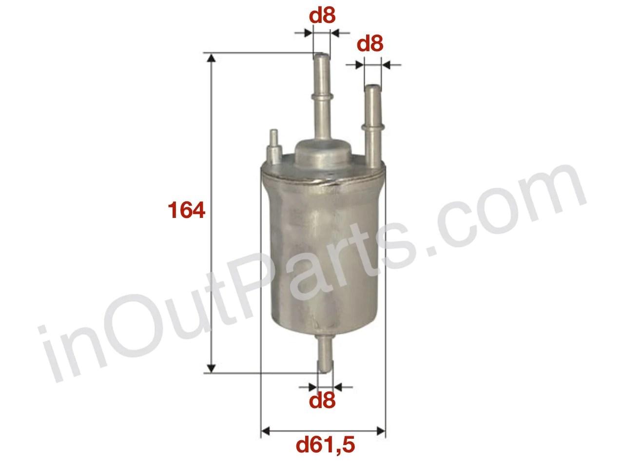 medium resolution of volkswagen fuel filter