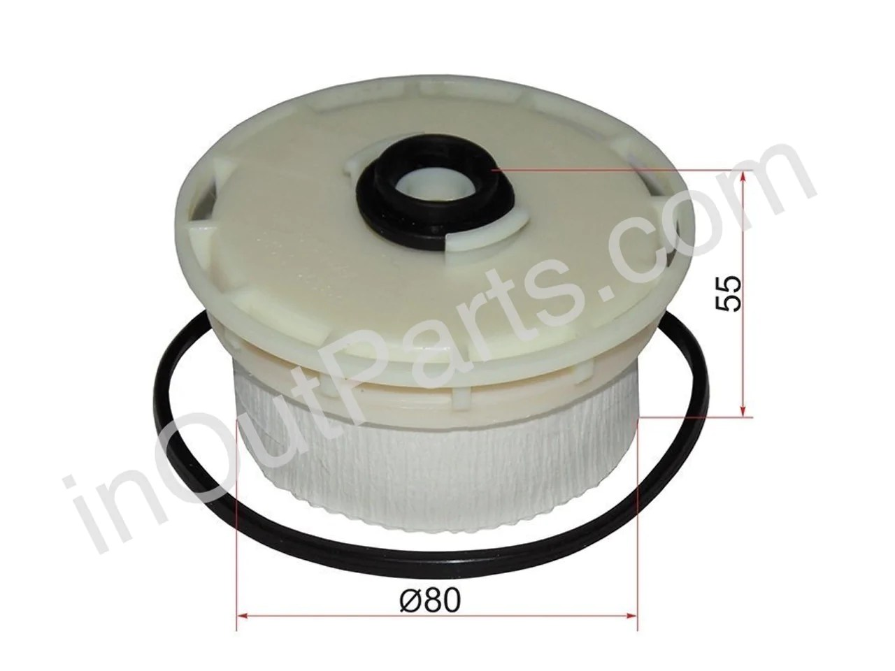hight resolution of fuel filter diesel fits toyota land cruiser 200 2007 2008 2009 2010 2011 2012 2013 2014 2015 2016