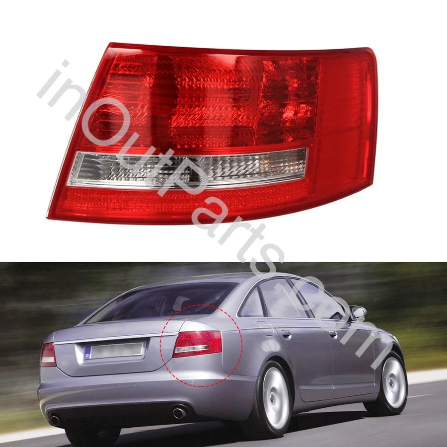hight resolution of tail light right for audi a6 2005 2006 2007 2008 rear lamp right inout parts