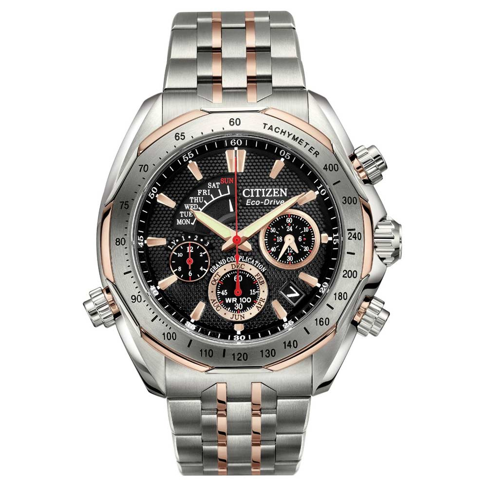 Citizen BZ0016-50E Men's Signature Two Tone Titanium Chrono Watch