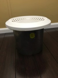 "Ventline Bathroom Ceiling Exhaust Fan 8"" Round  M&L ..."