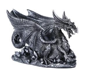 Mythical Dragon Wine Bottle Holder Medieval Fantasy Bar or Kitchen Tab Amazing GiftImpact