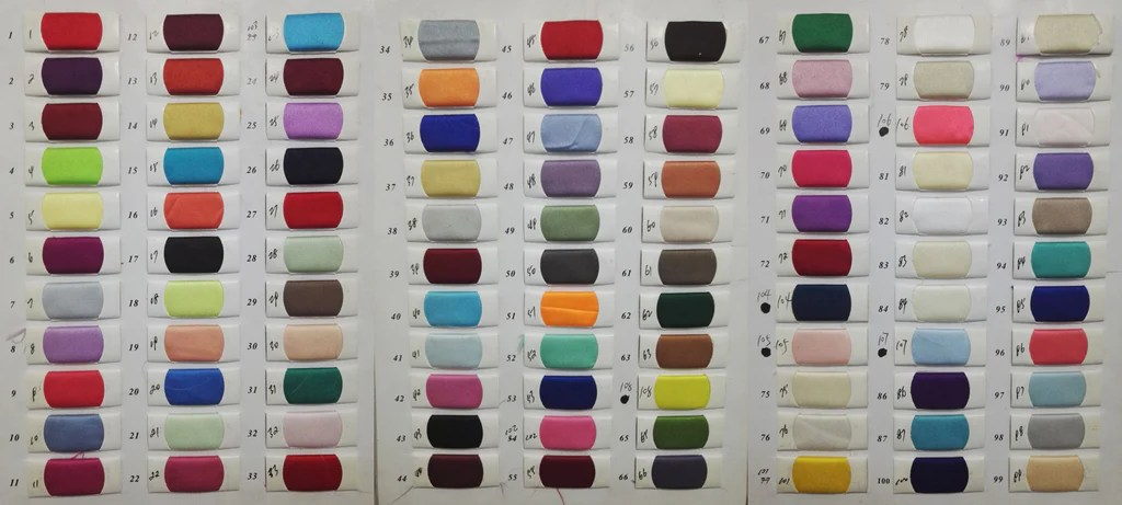 Satin color swatches for wedding dresses homecoming prom of simidress also  rh