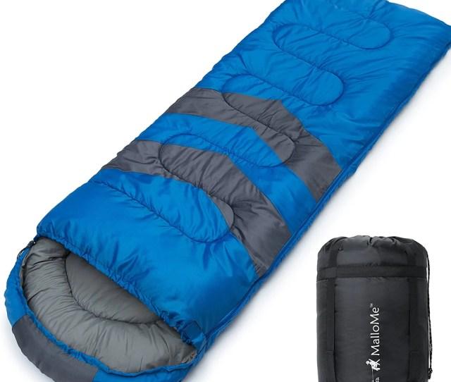 Single Camping Sleeping Bags Blue