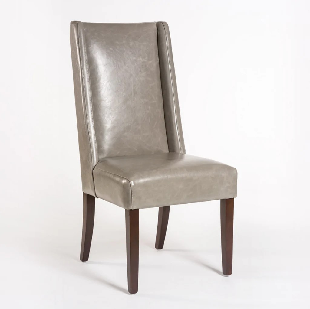 Dining Chair Dimensions Soho Leather Dining Chair London Fog Leather
