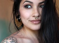 Gorgeous Cool Tribal Beauty - 14k Gold Septum Piercing ...