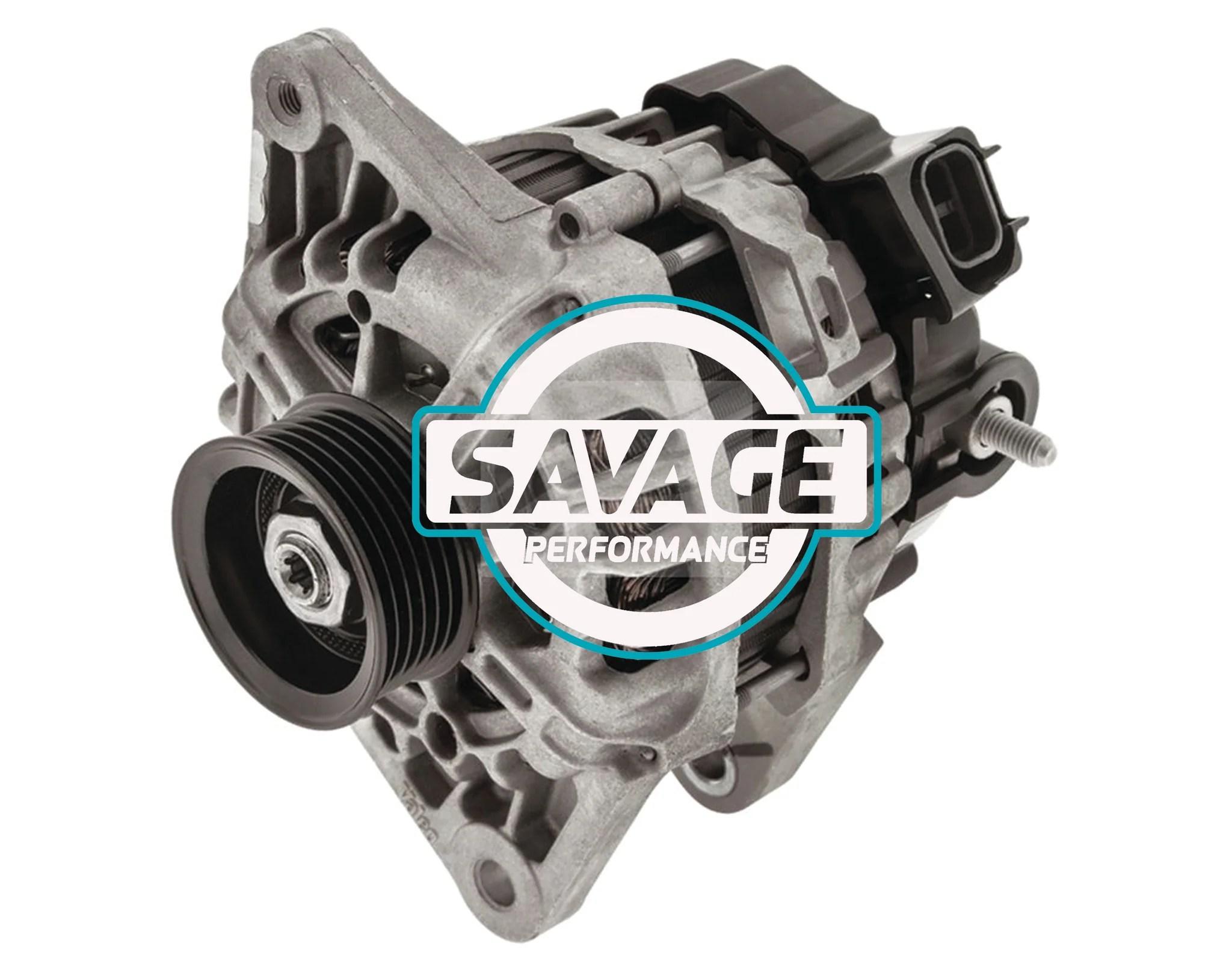 small resolution of hyundai elantra i20 i30 08 2 wire 14v 90a alternator savage performance and spares