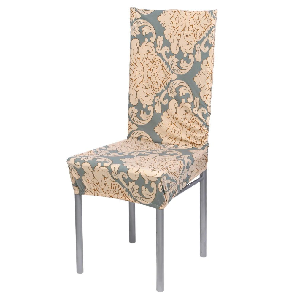 7 Color Cotton Blend Chair Covers Removable Stretch