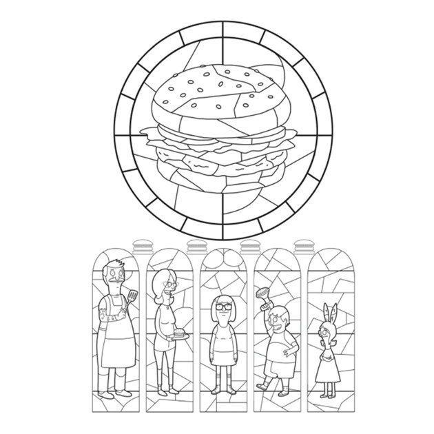 the official bob's burgers coloring book bob's burgers