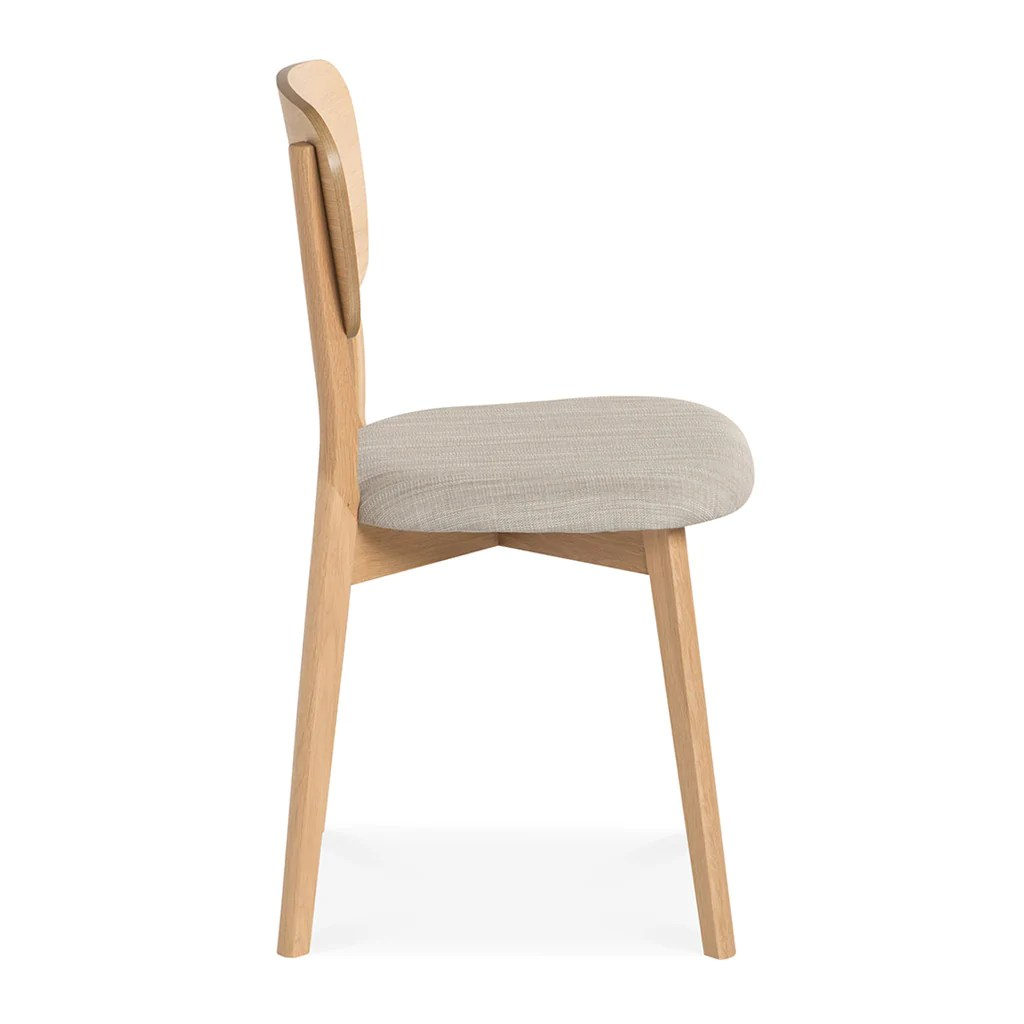 Scandinavian Chair Alva Scandinavian Wooden Dining Chair Set Of 2 The Design Edit
