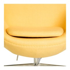 Pink Egg Chair Replica Cute Accent Chairs Arne Jacobsen Yellow The Design Edit