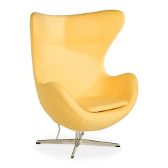 Pink Egg Chair Replica Toyota Sienna Captains Chairs Removal Arne Jacobsen Yellow The Design Edit