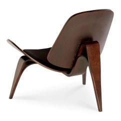 Shell Chair Replica Covers For Sale Ireland Wegner Ch07 Black 43 Dark Walnut The