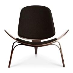 Shell Chair Replica Costco Lift Wegner Ch07 Black 43 Dark Walnut The