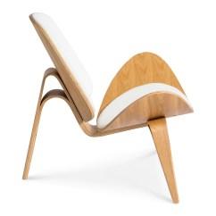 White Shell Chair Design Vitra Wegner Ch07 Replica 43 Natural The