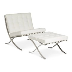 Mies Van Der Rohe Barcelona Chair Loose Covers For Queen Anne Chairs White Replica The Design Edit Mid Century Modern Ludwig Leather In