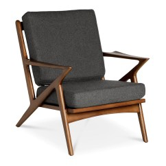 Selig Plycraft Lounge Chair Parts Brown Leather Chaise Z Replica Charcoal The Design Edit