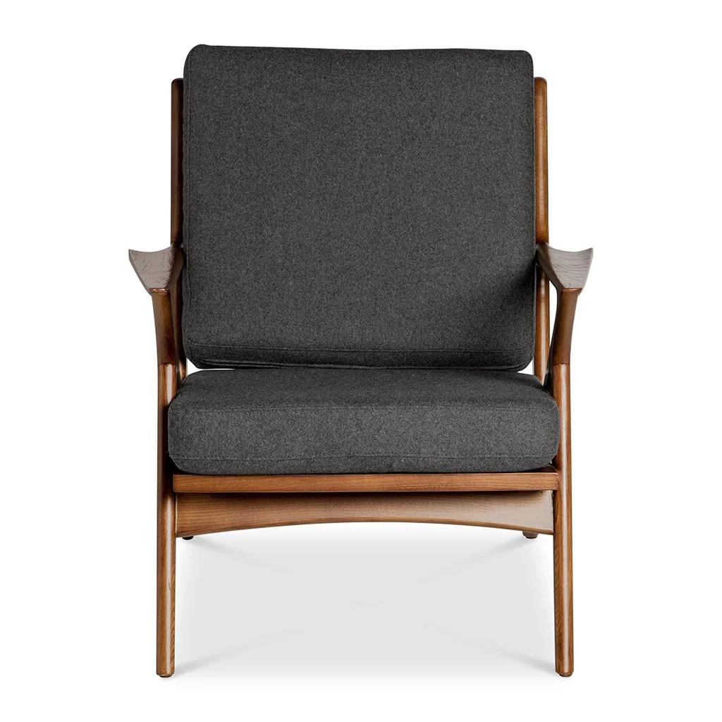 poul jensen z chair replica cheap unique chairs selig charcoal the design edit
