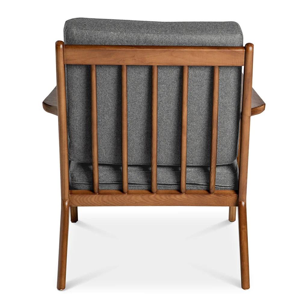 poul jensen z chair replica arm protectors pattern selig smoke grey the design edit