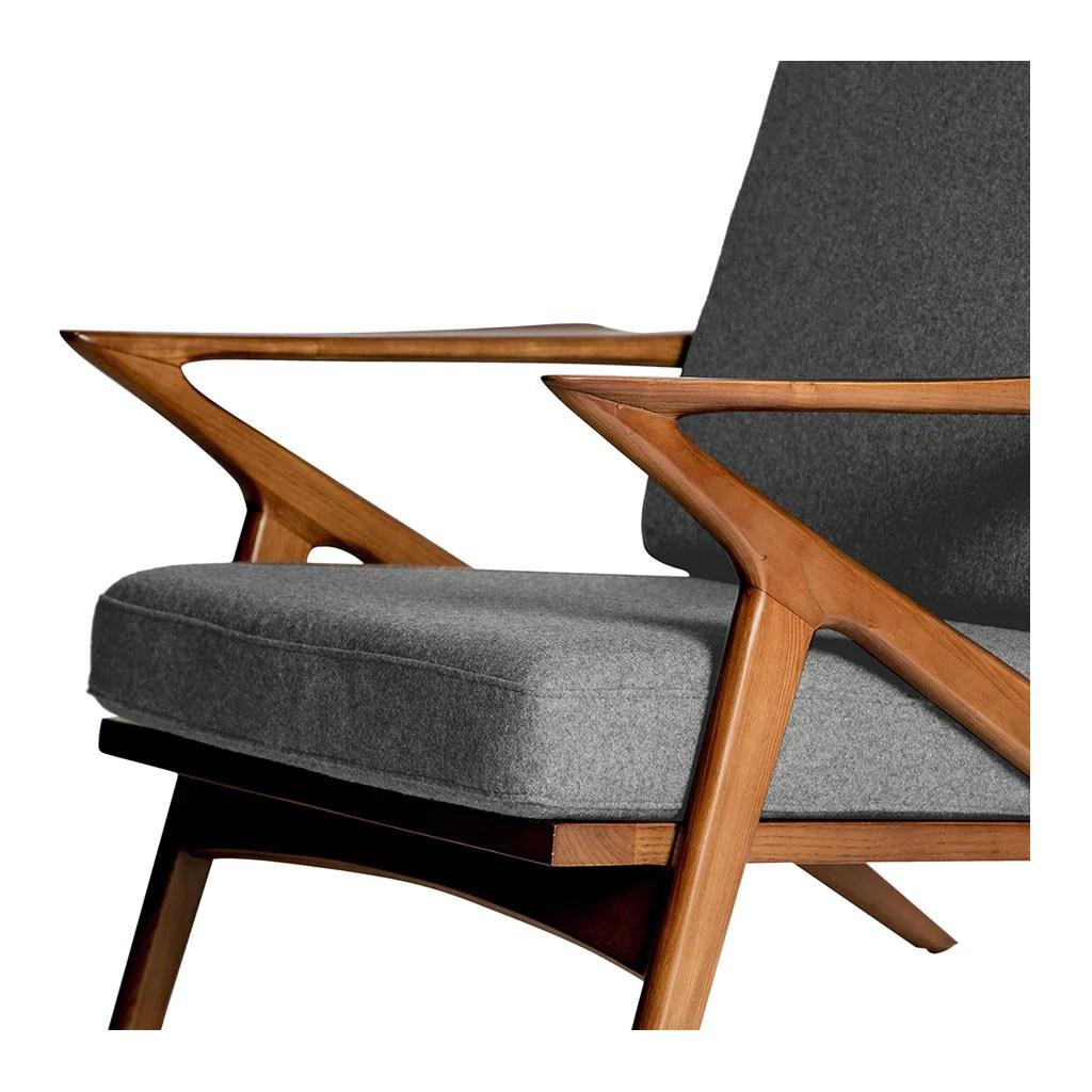 poul jensen z chair replica toddler sofa selig smoke grey the design edit