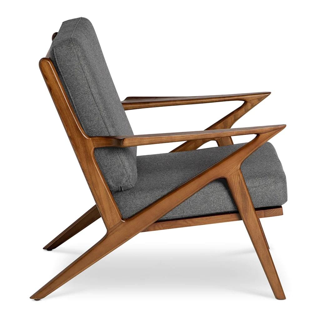 poul jensen z chair replica outdoor wicker swing selig smoke grey the design edit
