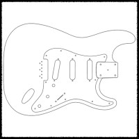 Fender Guitar Templates 38 Fender Jazzmaster Body Template