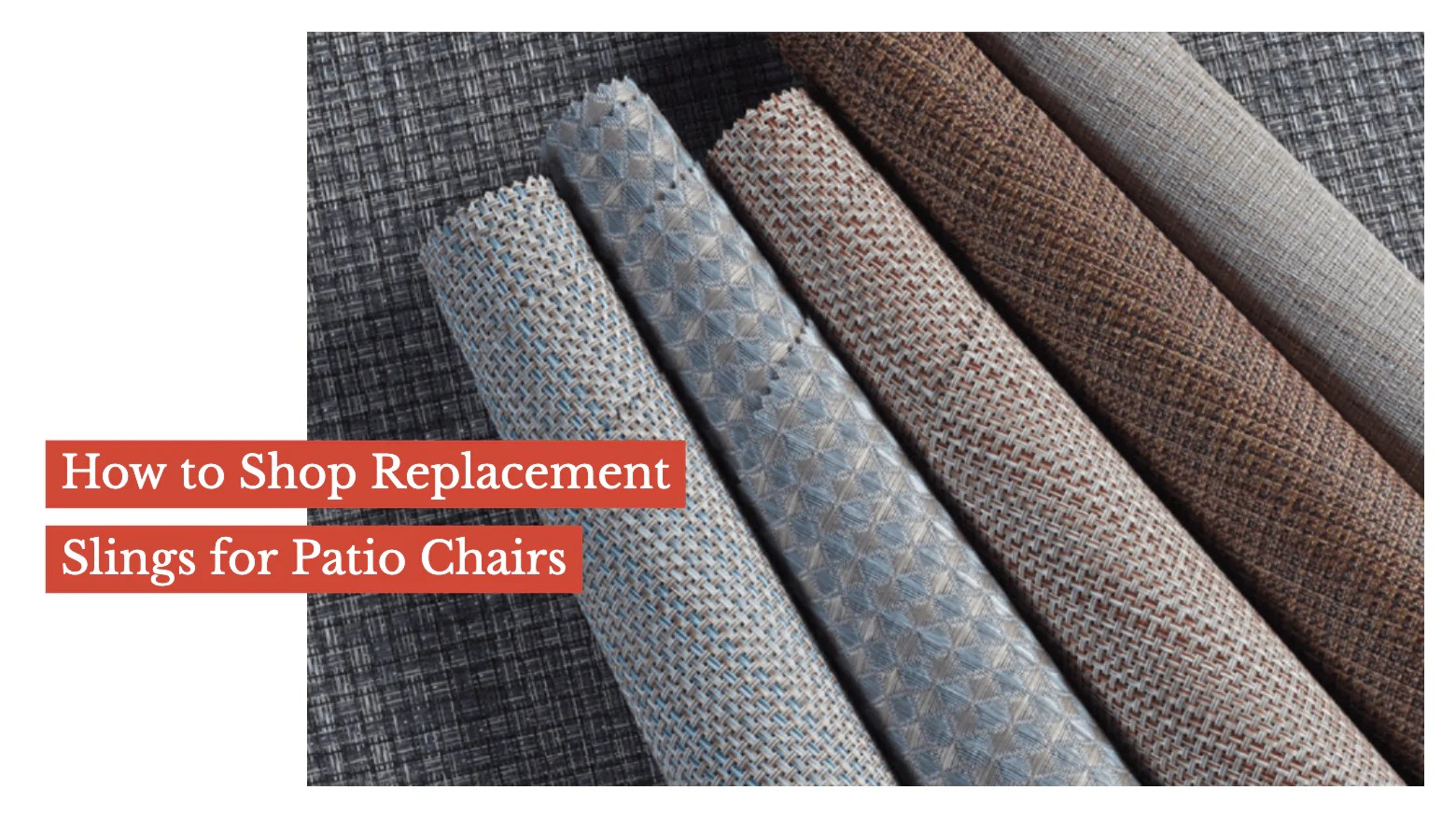 Replacement Chair Slings How To Shop Replacement Slings For Patio Chairs Sunniland Patio