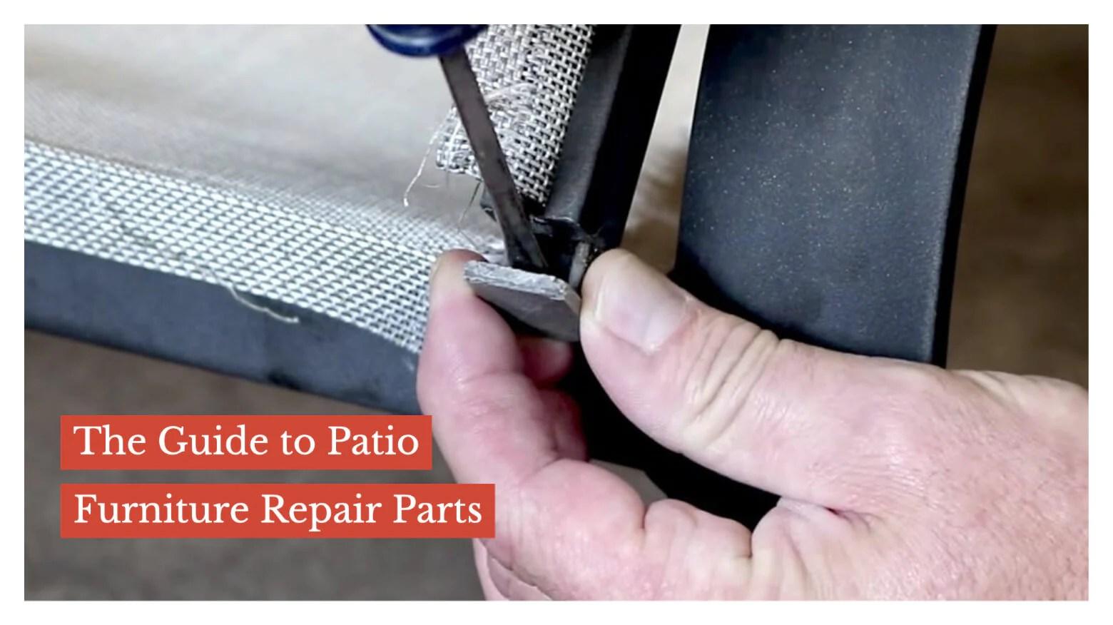patio furniture repair parts