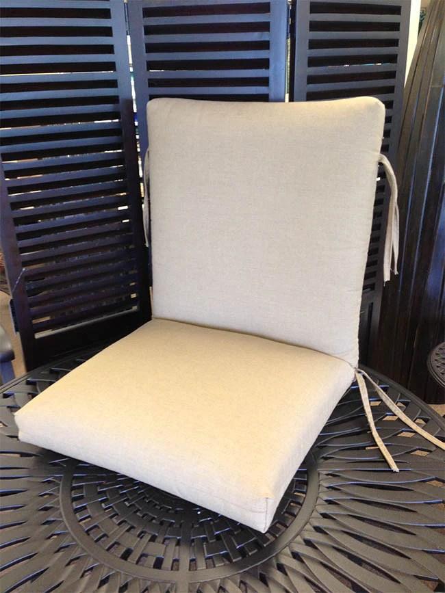 high back dining chair cushion item c 2202
