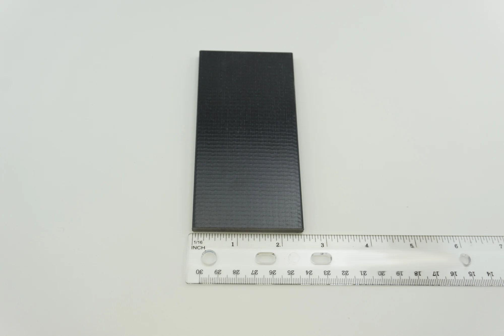 "2-1 2"" X 5"" Black Swivel Rocker Fiberglass Spring Plate"