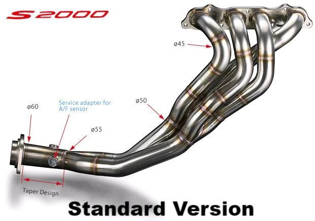 honda s2000 exhaust manifold