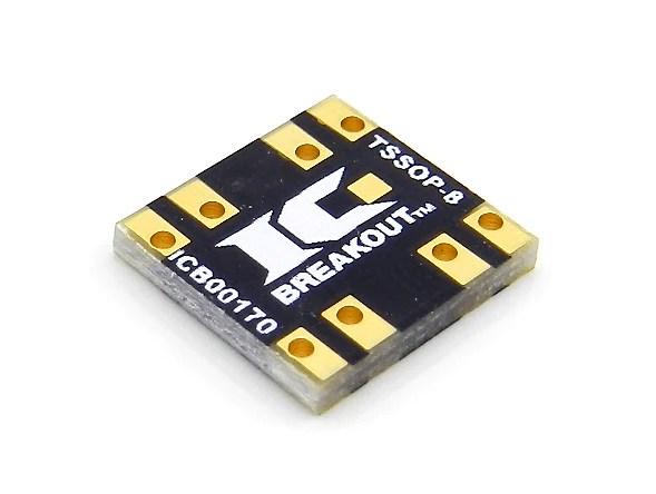 TSSOP8 Breakout Board 3 x 3 mm 065 mm  IC Breakout LLC