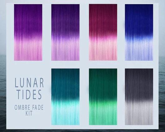 purple diy ombre kit hair dye