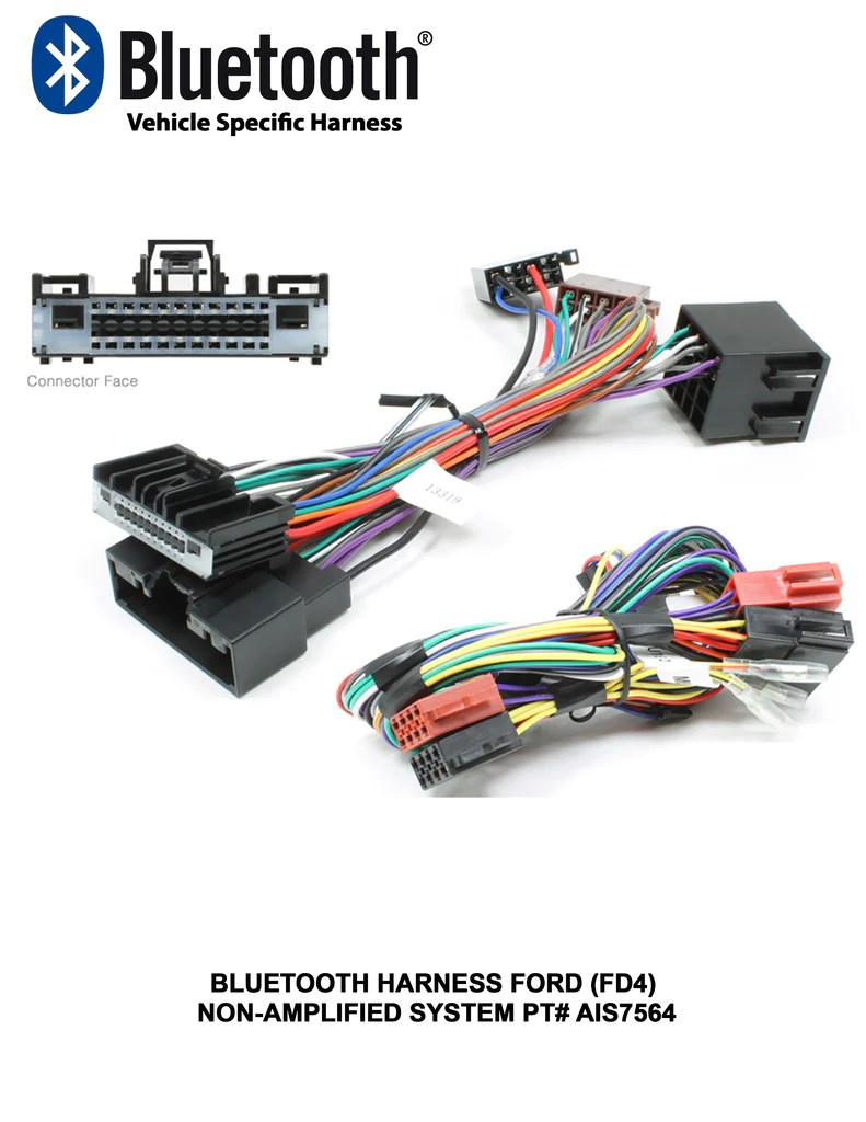 small resolution of bluetooth harness ford fd4 non amplified system pt ais7564