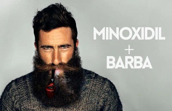 como tener barba con minoxidil